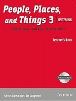 People, Places, and Things Listening: Teacher's Book 3 with Audio CD (Lougheed, L.)