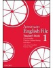 American English File 1 Teacher's Book (Oxenden, C. - Seligson, P.)