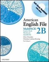 American English File 2 Student Book/workbook Multipack B (Oxenden, C. - Seligson, P.)