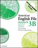 American English File 3 Student Book/workbook Multipack B (Oxenden, C - Latham Koenig, Ch. - Seligson, P.)
