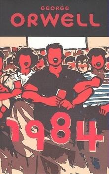 Obálka knihy 1984