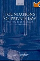 Foundations of Private Law: Property, Tort, Contract, Unjust Enrichment (Gordley, J.)