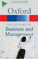 A Dictionary of Business and Management (Oxford Paperback Reference) (Law, J.)