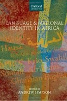 Language and National Identity in Africa (Simpson, A.)