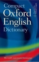 Compact Oxford English Dictionary of Current English (Oxford Dictionaries)