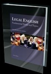 Legal English, Fundamental Terms and Topics (Sylvia Kummerová)