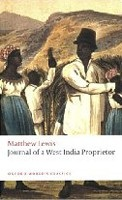 Journal of a West India Proprietor (Oxford World's Classics) (Lewis, M.)