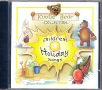 Kootie Bear Collection - Children's Holiday Songs CD