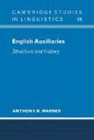 English Auxiliaries: Structure and History (Warner, A. R.)