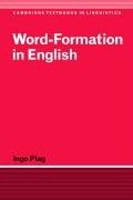 Word-Formation in English (Plag, I.)