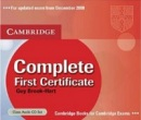 Complete First Certificate - Upper Intermediate Class Audio CD (3ks) (Brook-Hart, G.)
