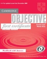Objective First Certificate Workbook with answers (Capel, A. - Sharp, W.)