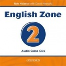 English Zone 2 Class Audio CDs (2) (Nolasco, R.)
