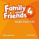 Family and Friends 4 Class Audio CDs (Simmons, N.)