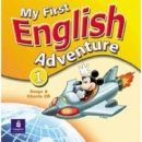 My First English Adventure 1 Song CD (Musiol, M. - Villarroel, M.)