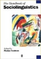 The Handbook of Sociolinguistics (Coulmas, F.)