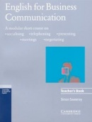 English for Business Comunication 2/e Teacher's Book (Sweeney, S.)