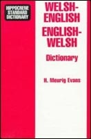 Welsh-English, English-Welsh Dictionary (Evans, H. M.)