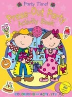 Party Time!: My Press-out Activity Book