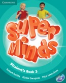 Super Minds Level 3 Student's Book+DVD-ROM (Puchta, H.)