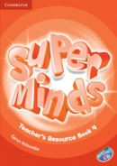 Super Minds Level 4 Teacher's Resource Book +Audio CD (Puchta, H.)