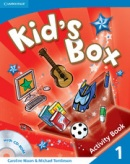 Kid's Box Level 1 Activity Book with CD-ROM - cvičebnica s CD (Nixon, C. - Tomlinson, M.)
