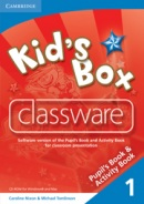 Kid's Box Level 1 Classware - interaktívne CD (Nixon, C. - Tomlinson, M.)