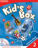Kid's Box Level 2 Activity Book with CD-ROM - cvičebnica s CD (Nixon, C. - Tomlinson, M.)