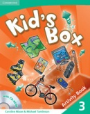 Kid's Box Level 3 Activity Book with CD-ROM - cvičebnica s CD (Nixon, C. - Tomlinson, M.)