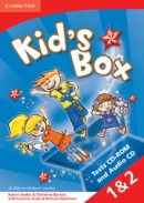 Kid's Box Level 1 a 2 Tests CD-ROM a Audio CD - testy na CD (Nixon, C. - Tomlinson, M.)