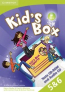 Kid's Box Level 5 a 6 Tests CD-ROM a Audio CD - testy na CD (Nixon, C. - Tomlinson, M.)