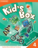 Kid's Box Level 4 Activity Book - cvičebnica (Nixon, C. - Tomlinson, M.)