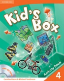 Kid's Box Level 4 Activity Book with CD-ROM - cvičebnica s CD (Nixon, C. - Tomlinson, M.)