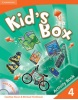 Kid´s Box Level 4 Activity Book with CD-ROM - cvičebnica s CD (Nixon, C. - Tomlinson, M.)
