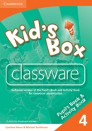 Kid's Box Level 4 Classware - interaktívne CD (Nixon, C. - Tomlinson, M.)