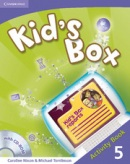 Kid's Box Level 5 Activity Book with CD-ROM - cvičebnica s CD (Nixon, C. - Tomlinson, M.)