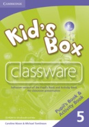 Kid's Box Level 5 Classware - interaktívne CD (Nixon, C. - Tomlinson, M.)