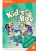Kid´s Box Level 4 Interactive DVD with Teacher´s Booklet - interaktívne DVD s učiteľskou brožúrou (Nixon, C. - Tomlinson, M.)