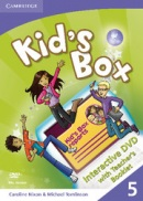 Kid's Box Level 5 Interactive DVD with Teacher's Booklet - interaktívne DVD s učiteľskou brožúrou (Nixon, C. - Tomlinson, M.)