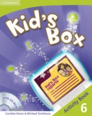 Kid's Box Level 6 Activity Book with CD-ROM - cvičebnica s CD (Nixon, C. - Tomlinson, M.)