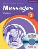 Messages Level 3 Workbook + Audio CD - pracovný zošit s CD (Goodey, D. - Goodey, N. - Craven, M. - Levy, M.)