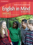 English in Mind 2nd Level 1 Audio CD - posluchové CD (3ks) (Puchta, H. - Stranks, J. - Lewis-Jones, P.)