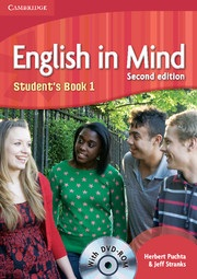 English in Mind 2nd Level 1 Student's Book + DVD - učebnica s DVD (Puchta, H. - Stranks, J. - Lewis-Jones, P.)