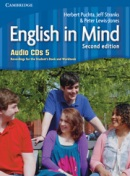 English in Mind 2nd Level 5 Audio CD - posluchové CD (4ks) (Puchta, H. - Stranks, J. - Lewis-Jones, P.)