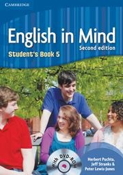 English in Mind 2nd Level 5 Student's Book + DVD - učebnica s DVD (Puchta, H. - Stranks, J. - Lewis-Jones, P.)