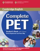 Complete PET - Intermediate Student's Book s kľúčom + CD (Heyderman, E. - May, P.)