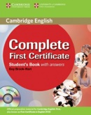 Complete First Certificate - Upper Intermediate Student's Book s kľúčom + CD (Brook-Hart, G.)