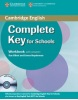 Complete Key for Schools - Elementary Workbook s kľúčom + CD (McKeegan, D.)