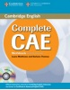 Complete CAE - Advanced Workbook bez kľúča + CD (Brook-Hart, G. - Haines, S.)