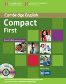Compact First Student's Book with answers + CD (May, P.)